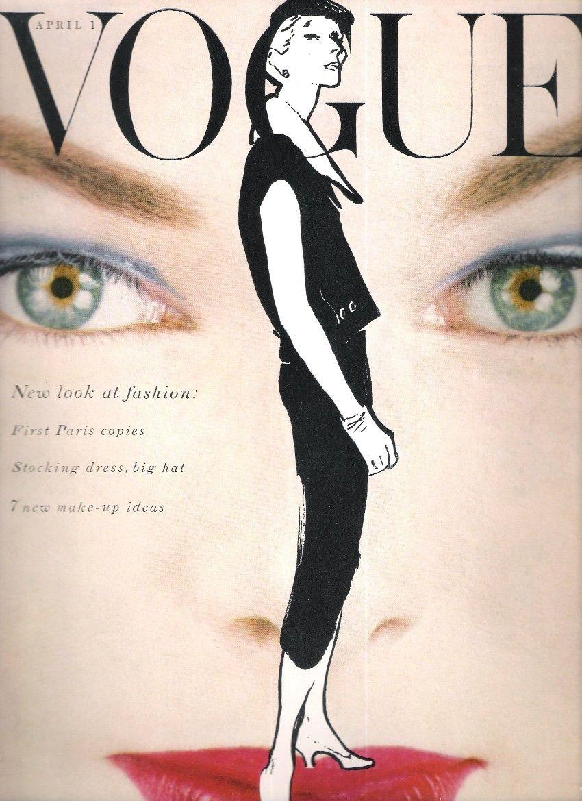 Vogue Apr 1954. Think this is Blumenfeld.