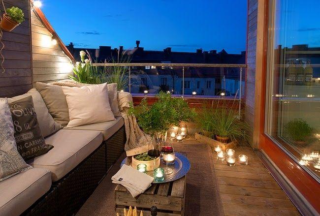 Un ático Con Una Terraza Llena De Encanto Design