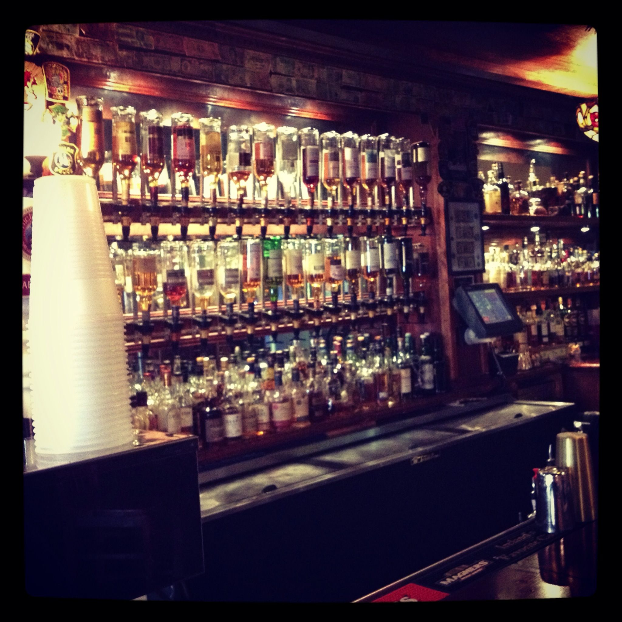 Second largest whiskey selection on east coast molly for Whiskey kitchen virginia beach
