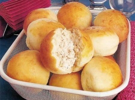 Pão de batata recheada