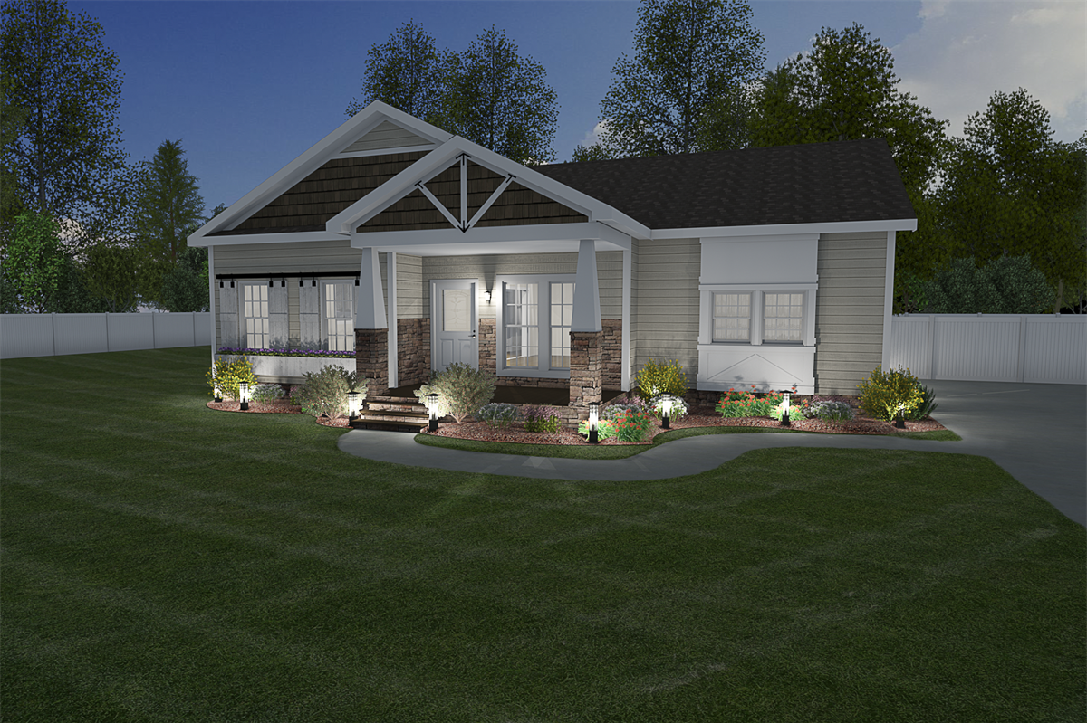 Clayton homes of mobile manufactured or modular house details for the new berry imp 9301 home
