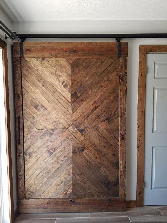Sliding X Pattern Barn Door Etsy Wood Doors Interior Barn Door Designs Barn Door