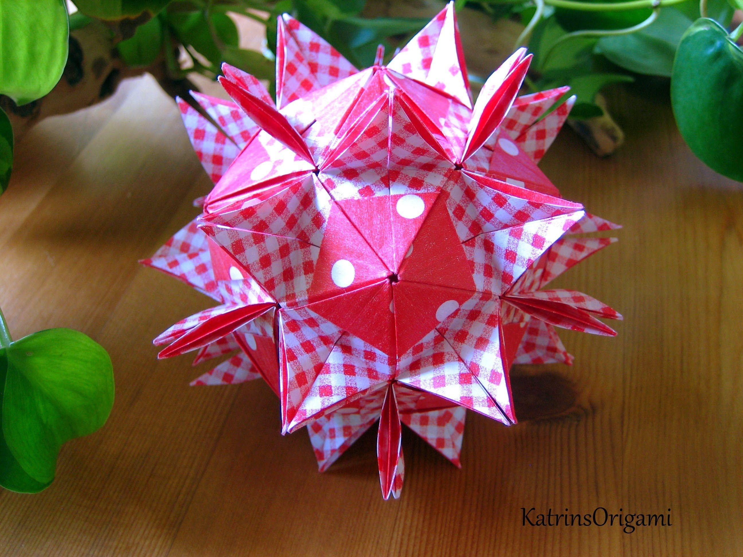 Origami Assol Kusudama Origami Videos Kusudamas Pinterest