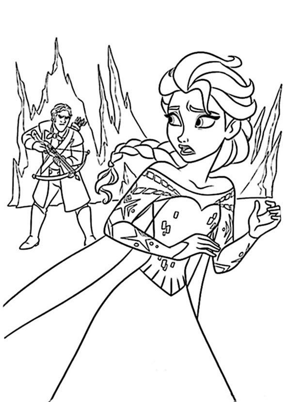 colorear eiskönigin 22 | elsa coloring pages, disney