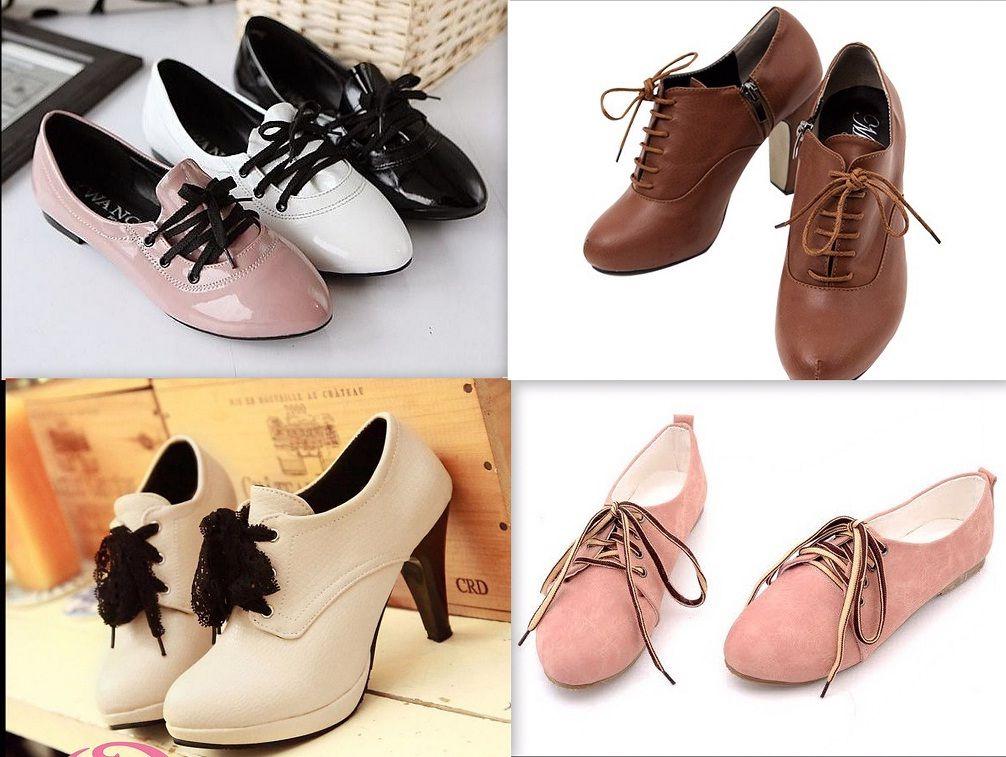 Giầy oxford - tên gọi của loại giày đế bệt, có dây buộc, phần mũi thon nhọn, với chất liệu chủ yếu là da.  Theo thời gian, giày oxford được thiết kế mẫu mã và màu sắc phong phú hơn, với đủ đế bệt, đế xuồng và cao gót, đáp ứng đa dạng nhu cầu.  Đây cũng là một lựa chọn ngày càng tăng của các bạn trẻ!