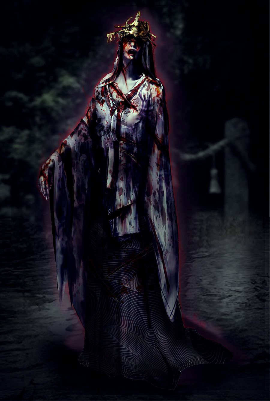 Fatal Frame Maiden of Water Black