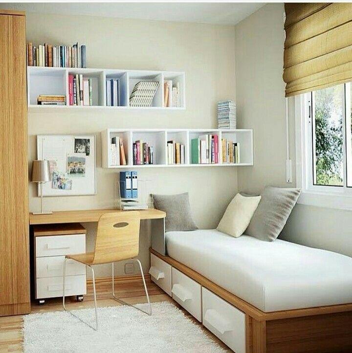 Quarto Estudos Pinterest Dormitorio, Apartamentos y
