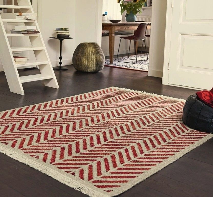 The Rug Seach Continues Esprit Ethno Sand Brick Red Image