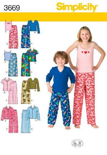 e5ae784333 Simplicity In K Designs Pattern 3669 Boys and Girls Pants... https ...