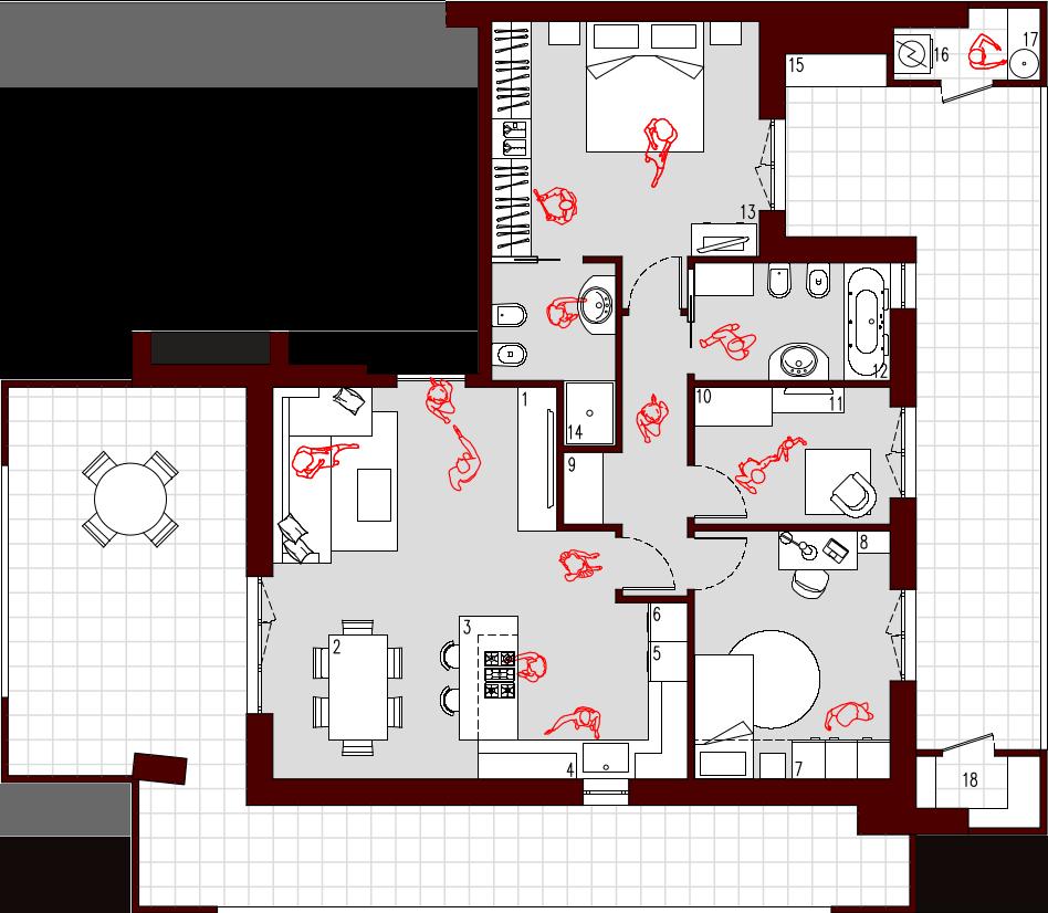 appartamento 75 mq planimetria Cerca con Google