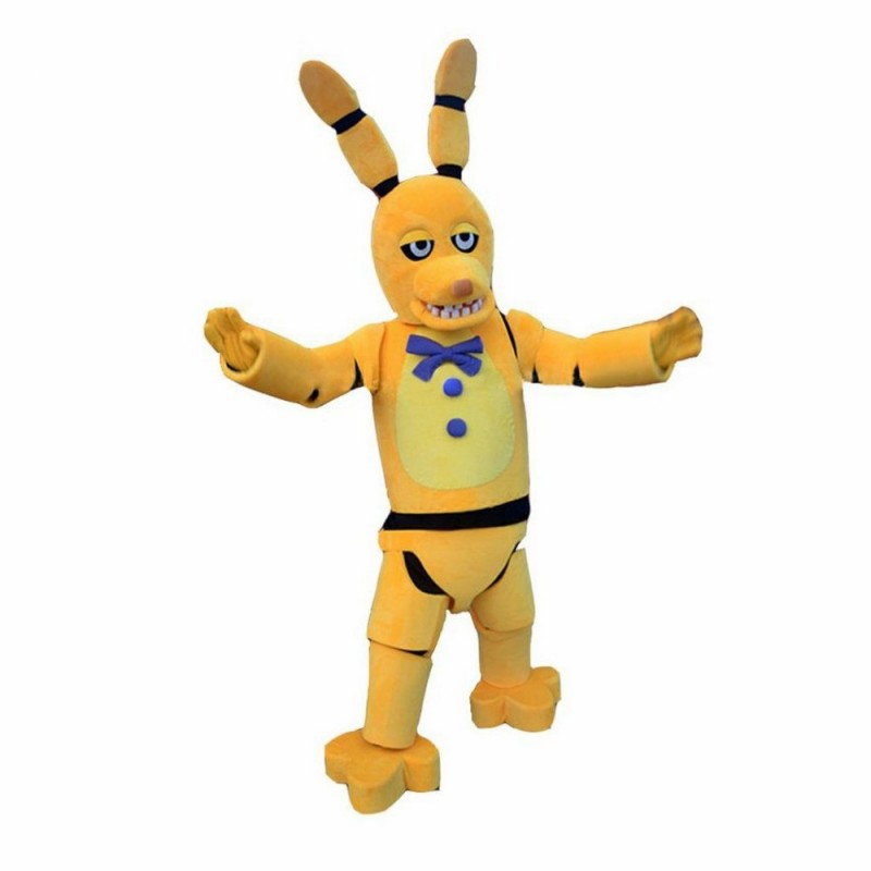 Yellow five-pointed Star Mascot Costume Cartoon Fancy Party Dress Character