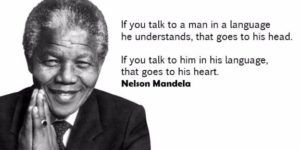 Image of: Powerful Weapon Nelson Mandela Language Quote Brainy Quote Nelson Mandela Language Quote Most Famous Nelson Mandela Quotes
