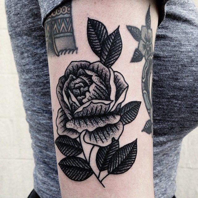 Mike Adams Rose Tattoo