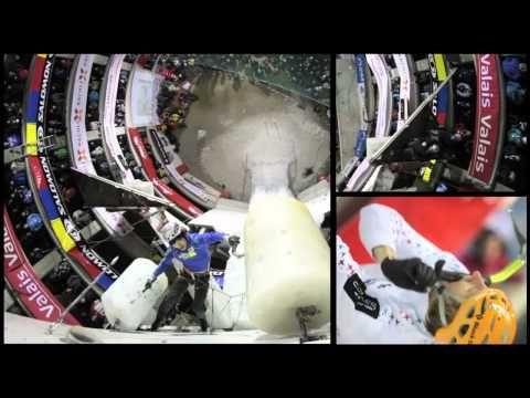 Ice Climbing World Cup 2011: Saas Fee Highlights
