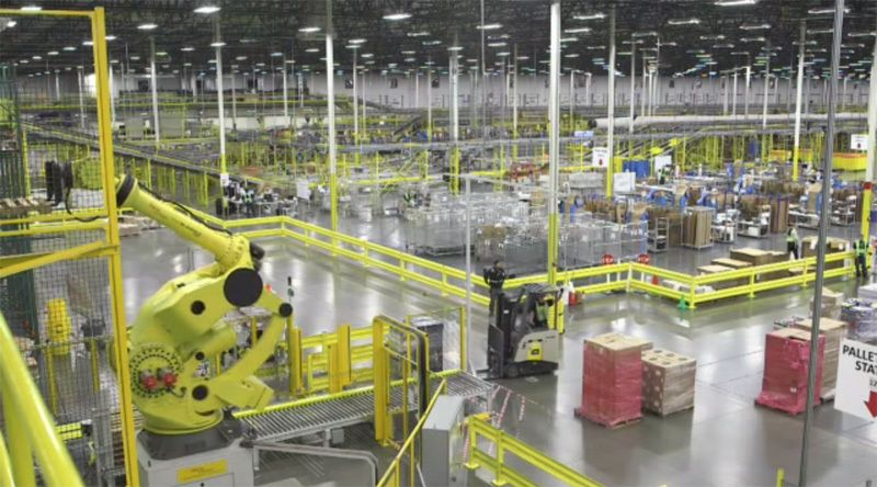 Inside Amazon S High Tech Fulfillment Centers With Images