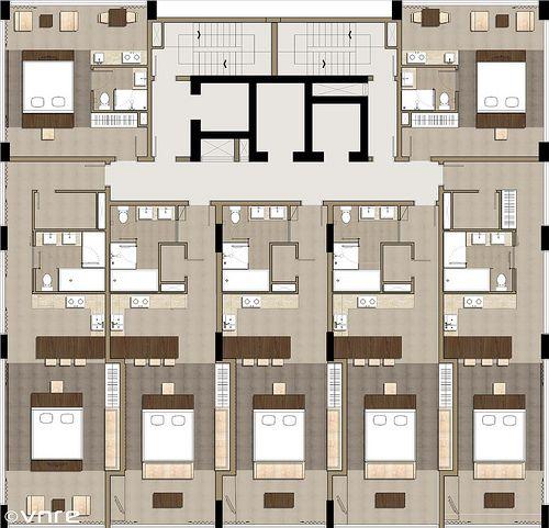 Fusion Suites Danang Floorplan Vnre Blogspot Com Reic Vietnam Flickr Hotel Floor Plan Hotel Room Interior Hotel Floor