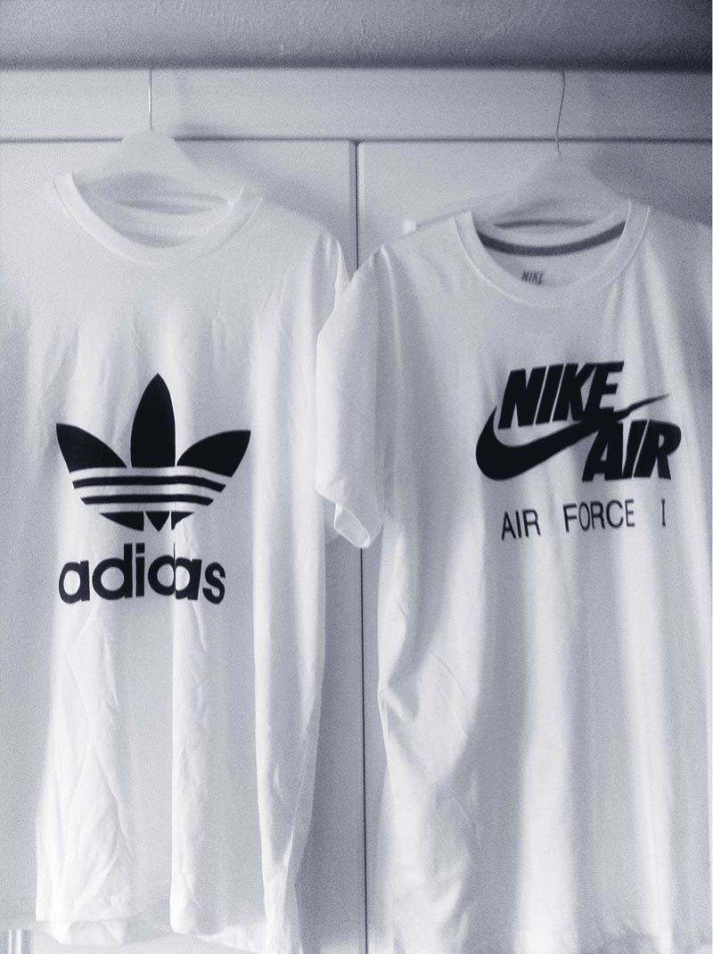 What's your pick? #adidasoriginals #nike | Fashion, Clothes