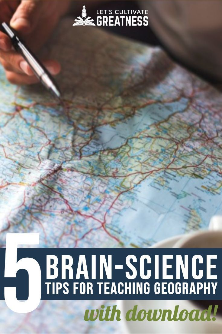 5 Steps to Teaching U.S. Geography Using Brain Science - Let's Cultivate Greatness #sciencehistory