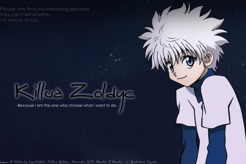 Killua Zoldyck High Quality Wallpapers Hunter x