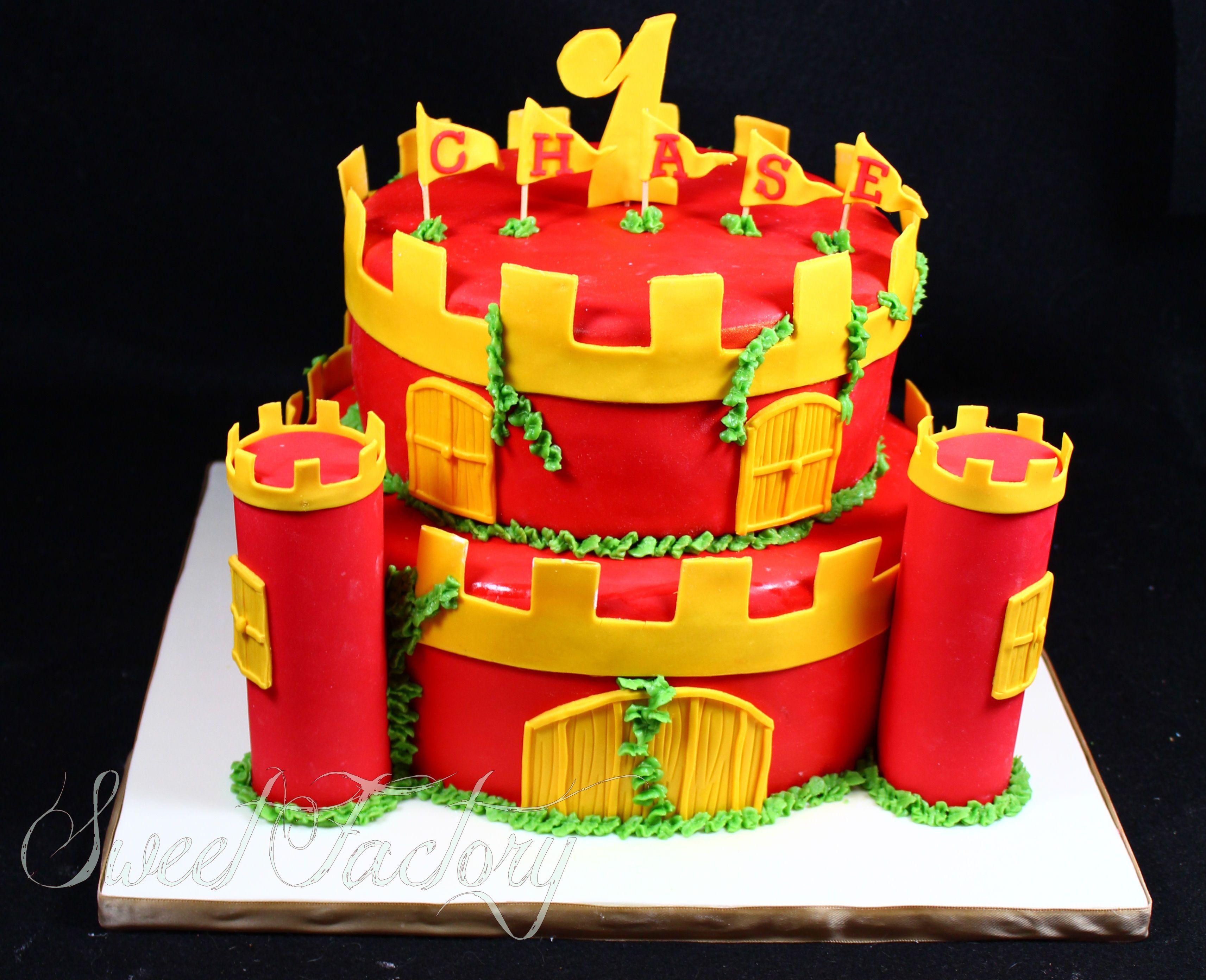 Surprising Castle Cake Funny Birthday Cards Online Overcheapnameinfo