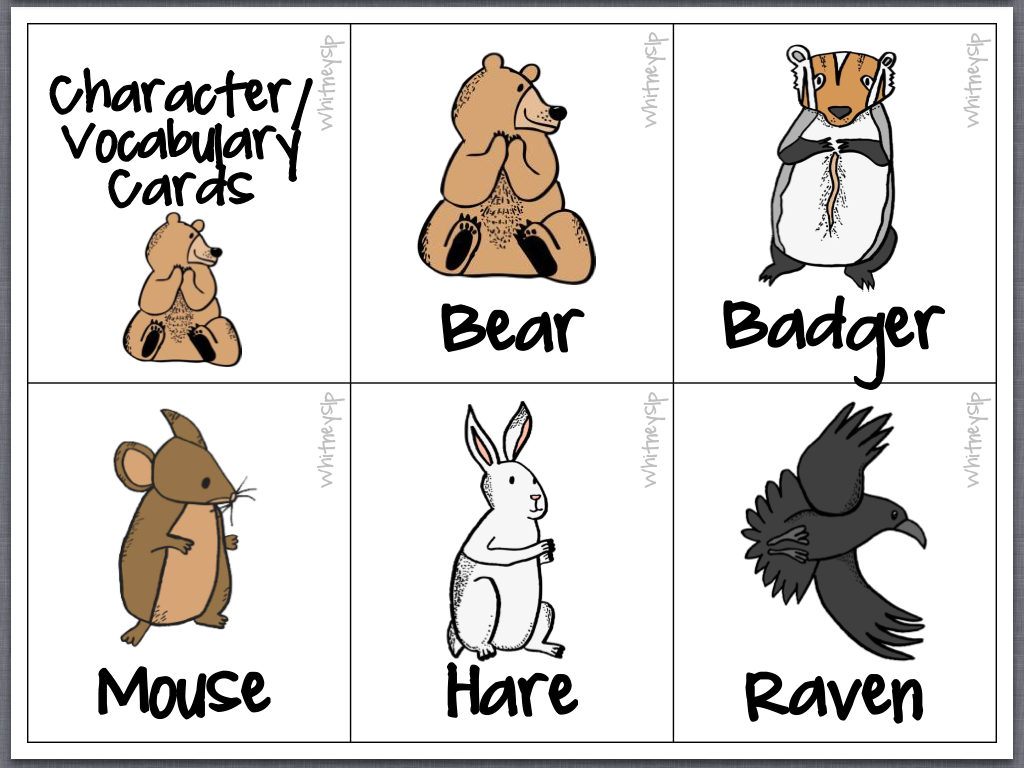 Bear Snores On Coloring Pages Character And Vocabulary