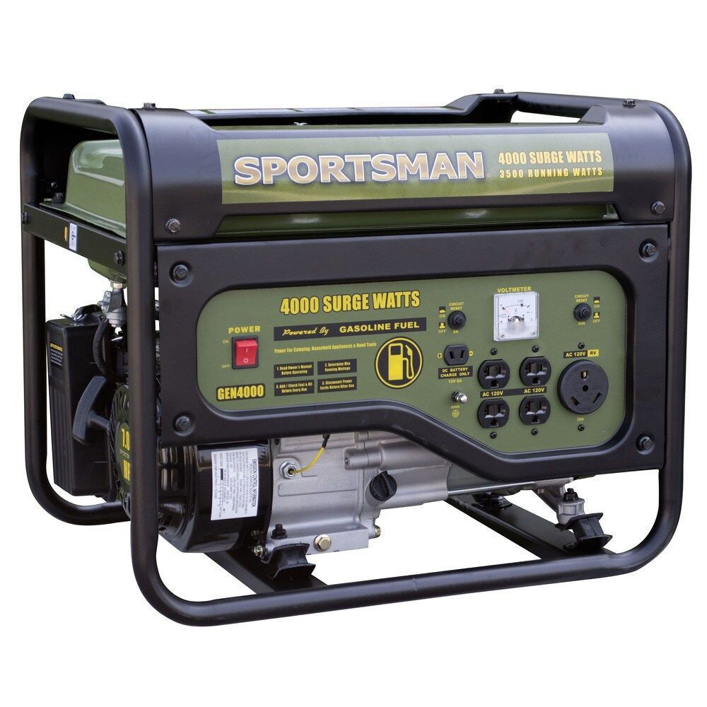 Sportsman Gasoline 4000 Watt Portable Generator Carb Approved Schematic Wiring Diagram Portable Power Generator Portable Generator Generators For Sale