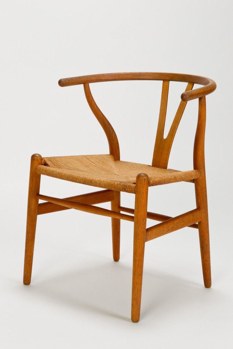 Hans J Wegner Wishbone Chair Danish Modern Mobilier De Salon Deco Chambre Mobilier