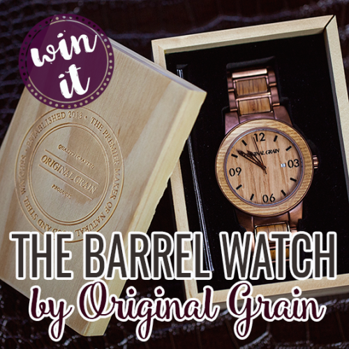 Win a Barrel Whiskey - Espresso Watch from Original Grain {US}... sweepstakes IFTTT reddit giveaways freebies contests