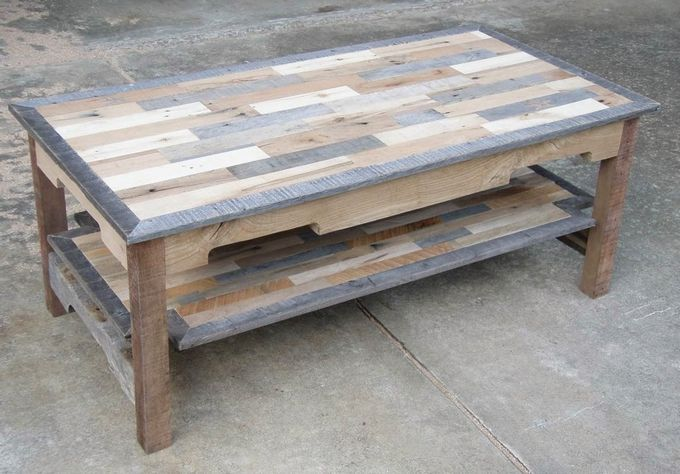 Diy Pallet Woodworking Coffee Table Plans Home Decor Project Ideas