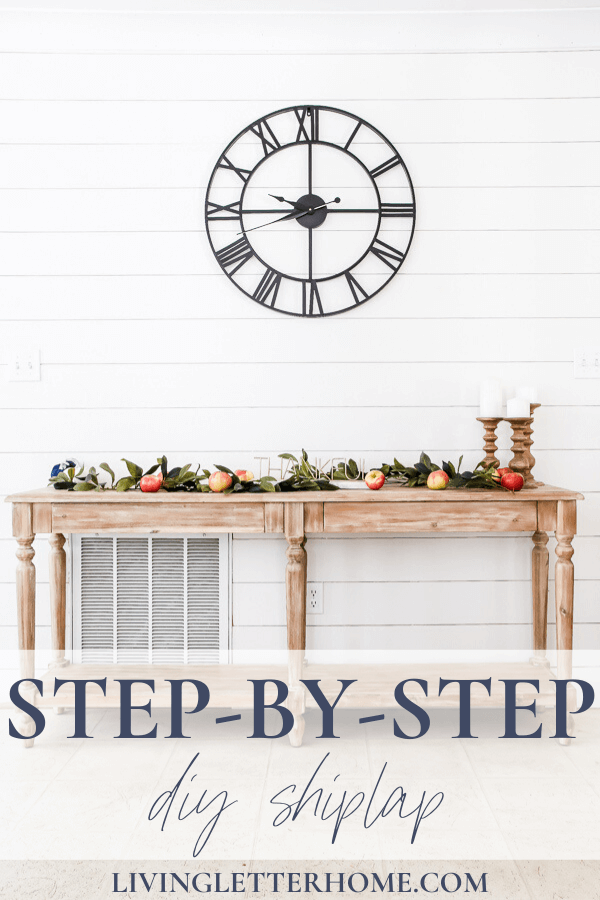 Easiest And Cheapest Way To Install Diy Faux Shiplap In