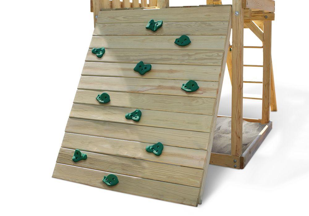 Rockwall Kit Small swing sets, Swing set kits, Swing set diy