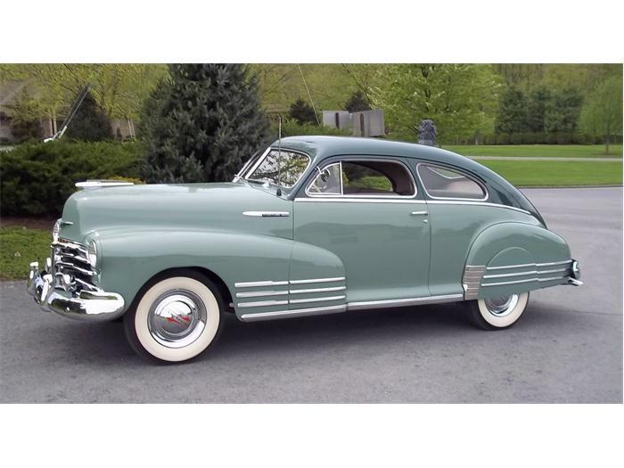 1948 Chevrolet Fleetline Aerosedan This Takes It For My Favourite