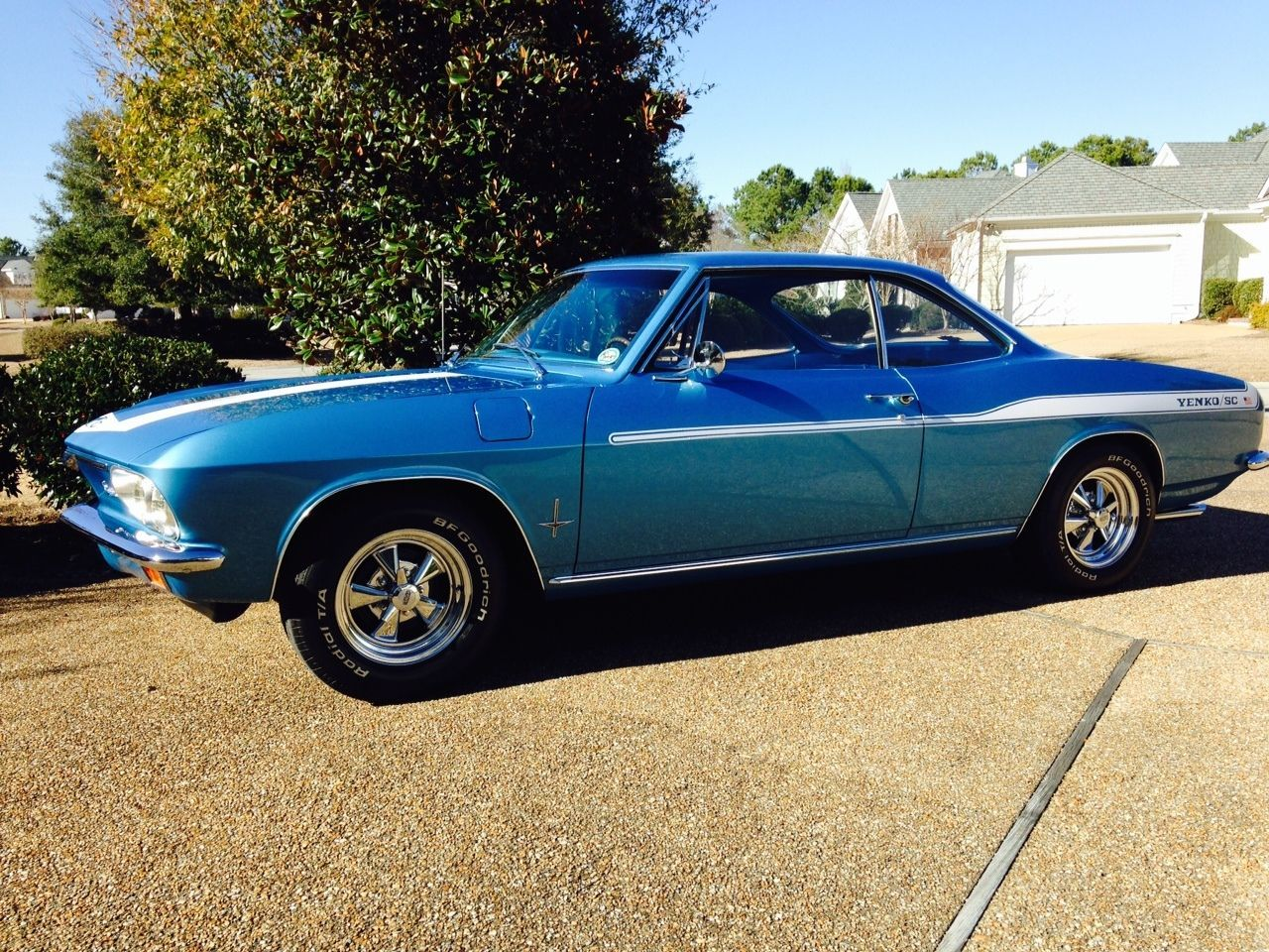 1966 Chevrolet Corvair Monza with Corsa Instrument Upgrades ...