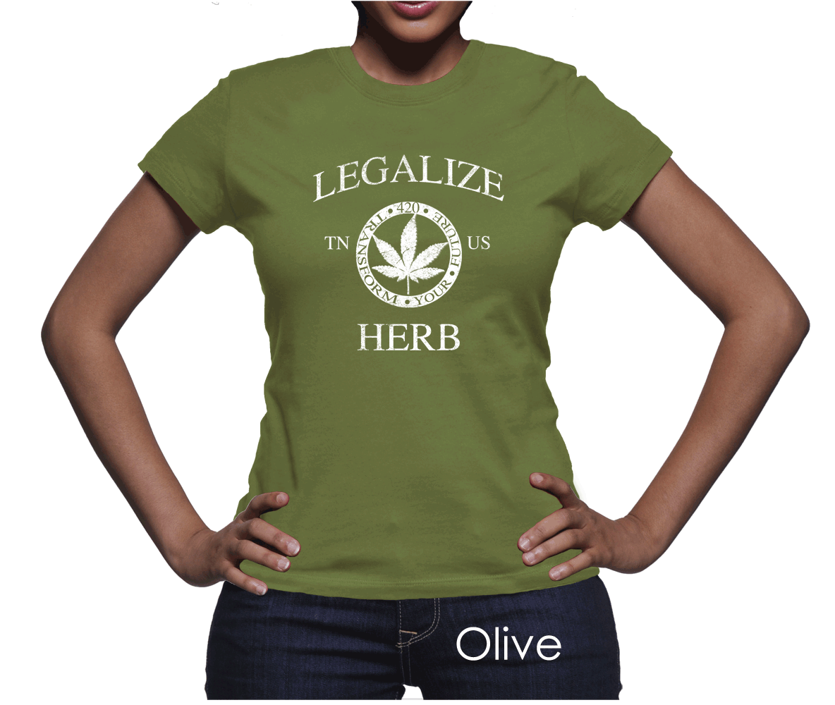 #Tennessee Legalize Herb Women's T-Shirt #PotTeez