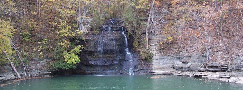 Tishomingo State Park--canoe trips, tent camping, waterfalls, 2 ...