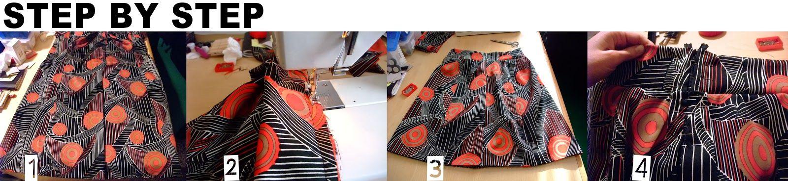 DIY- NoxCreare: Come fare una gonna - Refashion Before-After