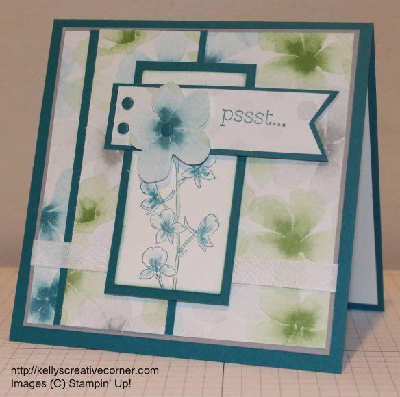 Psst Kellyscreativecorner Com Cards Handmade Card Craft Scrapbook Paper Crafts