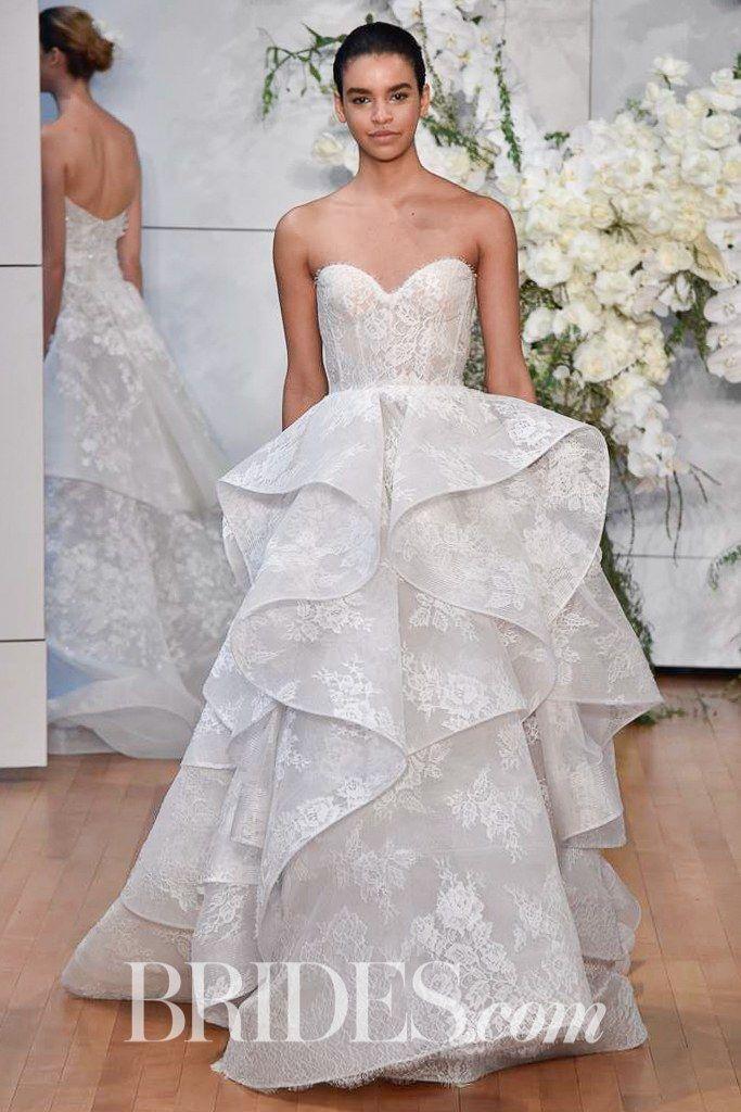 Monique Lhuillier Bridal & Wedding Dress Collection Spring 2018 ...