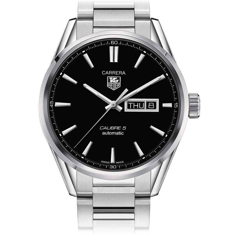 TAG HEUER CALIBRE 5 DAY-DATE AUTOMATIC WATCH 41 MM. For ...
