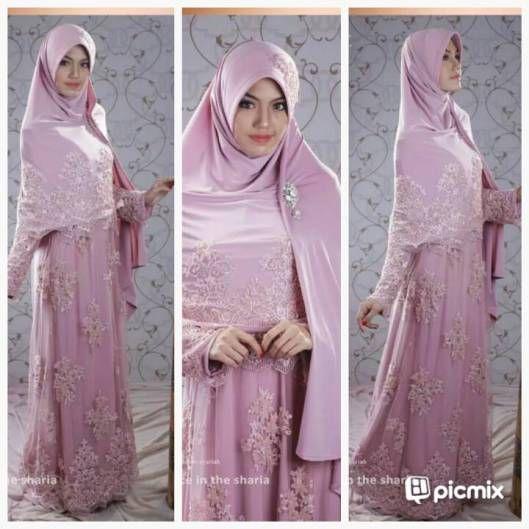 Huriyyah Gown Baju Lamaran Islami Baju Lamaran Muslimah