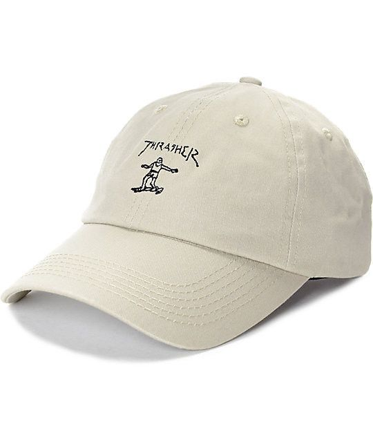 ceb7e9a1e3e Thrasher - Gonz Old Timer Hat - Tan