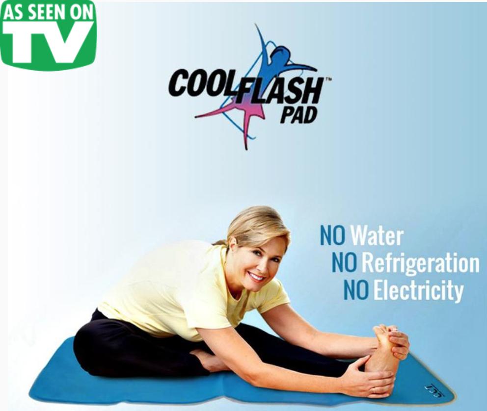 Cool Flash Pad Body Pad Hot Flash Relief Cool Stuff Body Padding