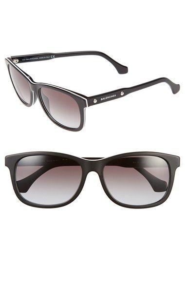 Balenciaga Paris 57mm 'BA0019' Sunglasses