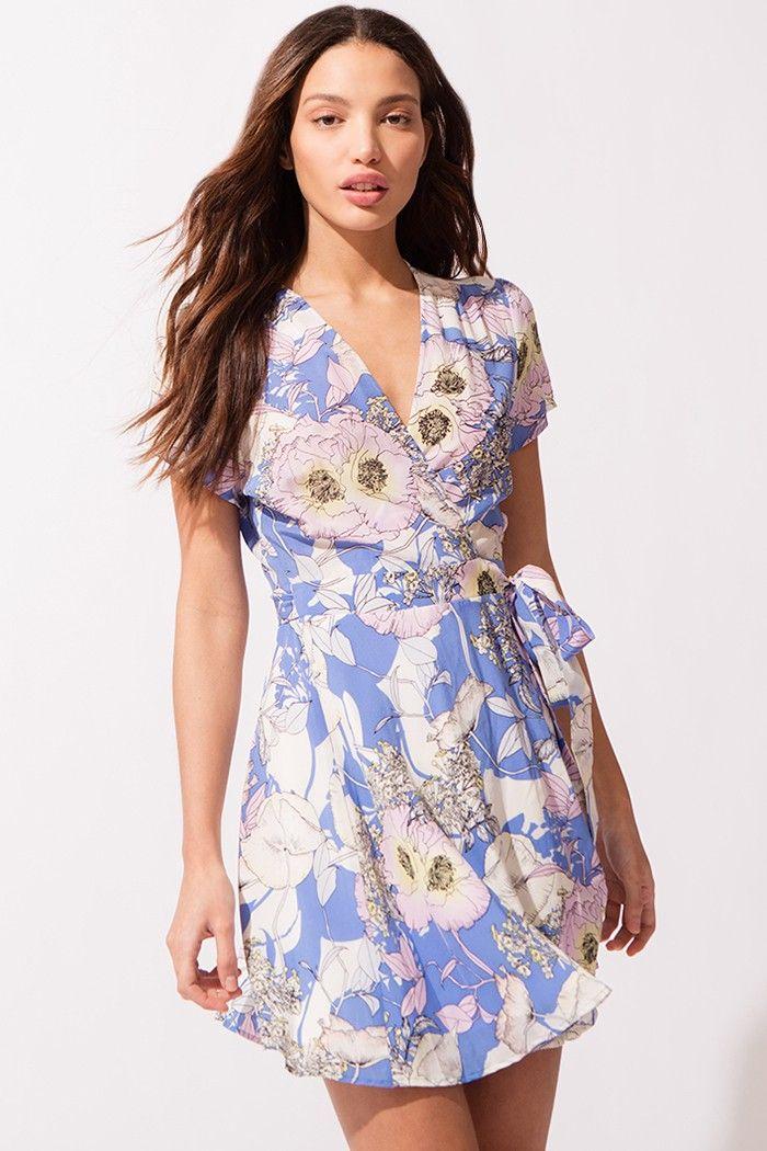 6379cb936e39 YUMI KIM KENNEDY SILK DRESS - BORA BORA PERI. #yumikim #cloth ...