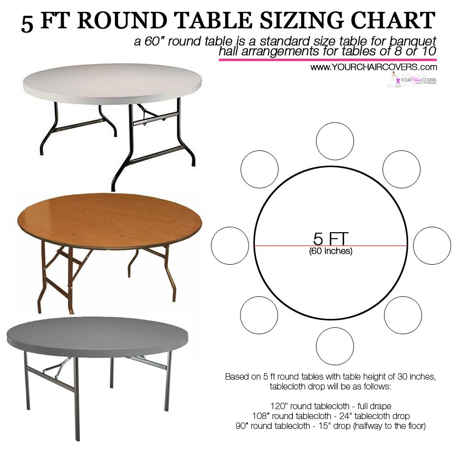 120 Inch Round Polyester Tablecloth Black Table Cloth Wedding