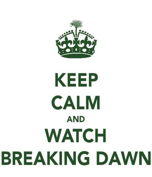 Watch Breaking Dawn