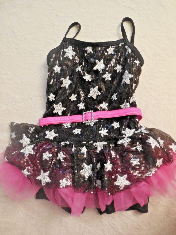 9c7c2122b WEISSMAN COSTUME LEO LEOTARD GIRL S SMALL DANCE GYMNASTICS STARS ...