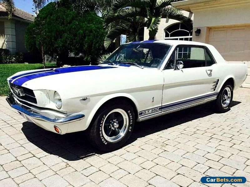 1965 Ford Mustang A Code Gt350 Ford Mustang Forsale Unitedstates