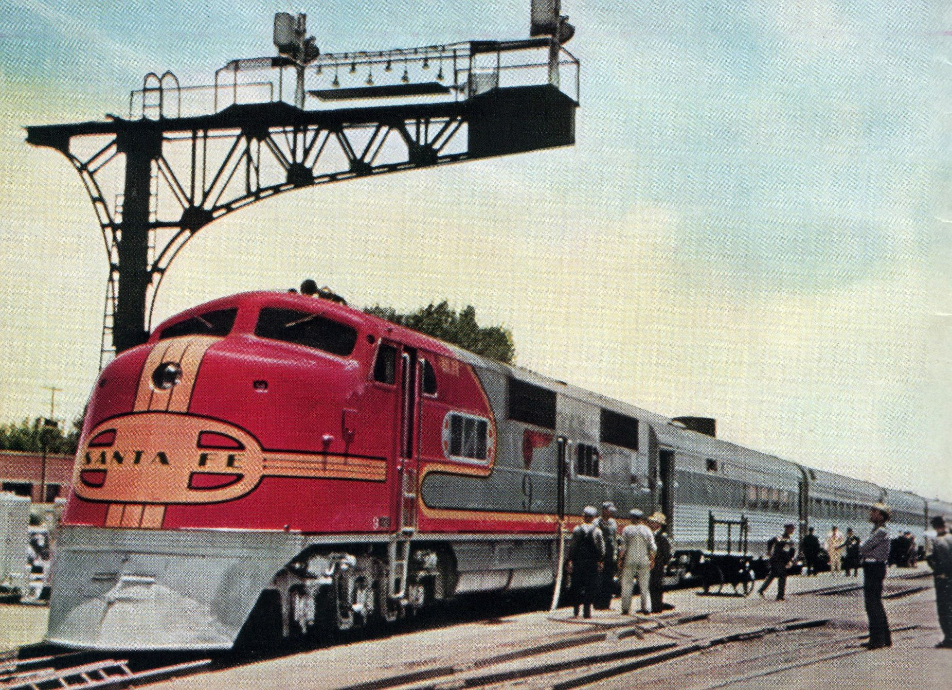 Santa Fe Railroad Posters Google Search Santa Fe