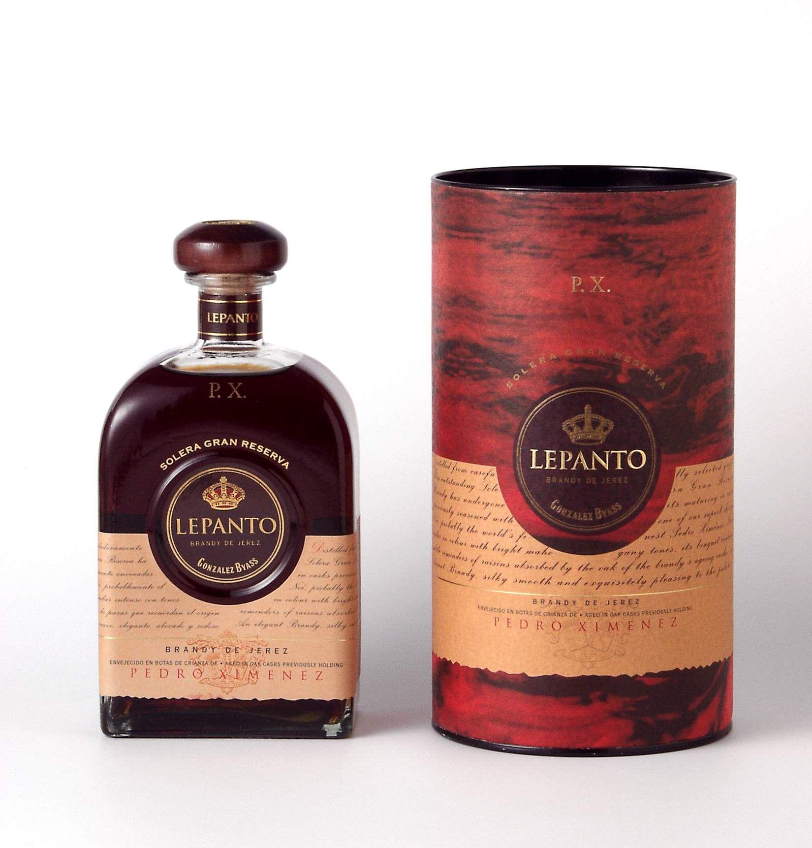 Lepanto Pedro Ximenez Whiskey Bottle Lepanto Brandy